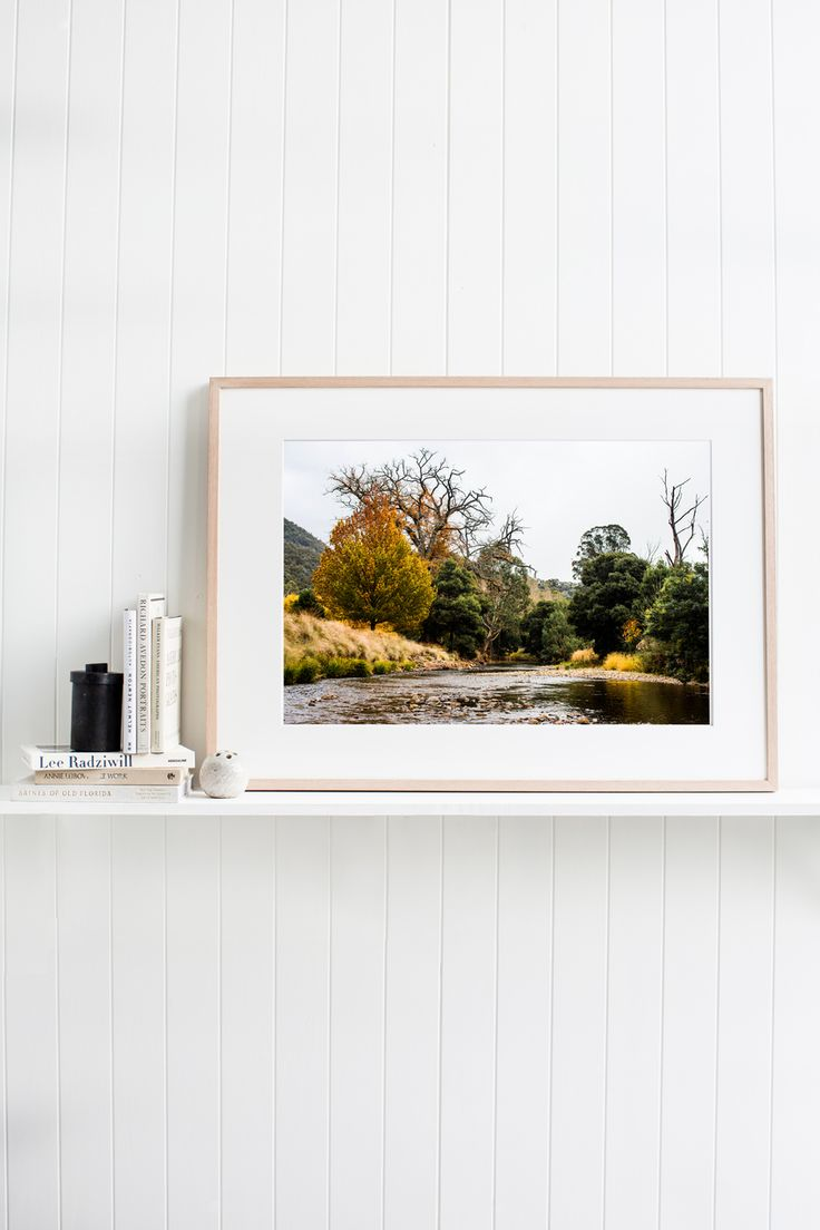 'Howqua River' Photographic Print © Kara Rosenlund