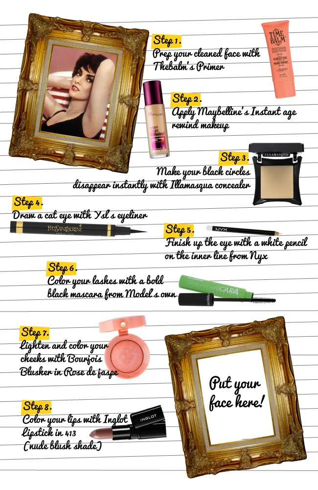 """Get the ''Lollo"""" look in 8 steps!"""