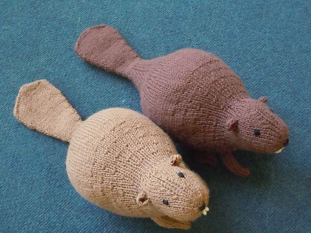 Liam's Beaver by Sara Elizabeth Kellner  Free Ravelry pattern http://www.ravelry.com/patterns/library/liams-beaver