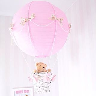 Luftballong lampa