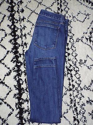 J-Crew-Womens-toothpick-ankle-dark-wash-skinny-jeans-size-27