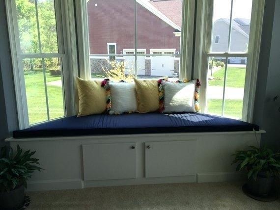 70 Bay Window Sofa Bay Window Seat Window Seat Storage Window Seat Cushions