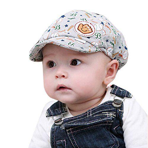 Malloom® Bébé Garçon Fille Toddler Kid infantile chapeau pointu Baseball Cap Beret (Gris): Contenu du coffret: 1PC Bébé Garçon Fille…