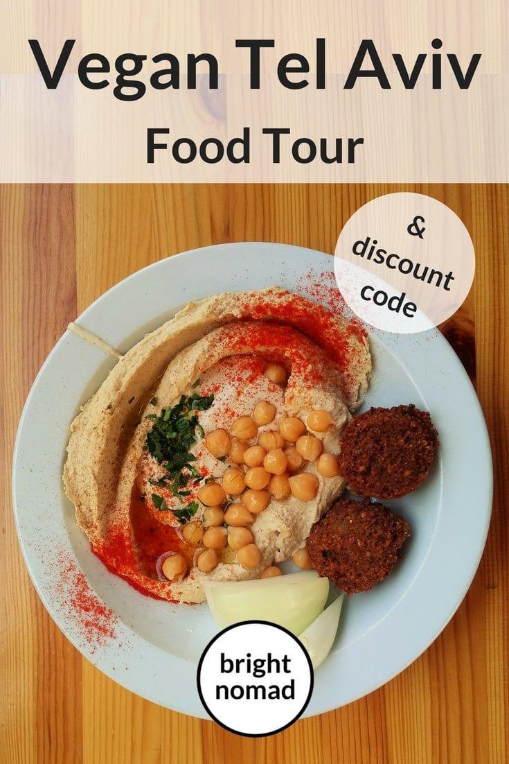 Vegan Tel Aviv self guided food tour and discount code with #bitemojo - #telaviv #israel #food #vegan #veganfood #veganlife #travel #tourism #travelapp