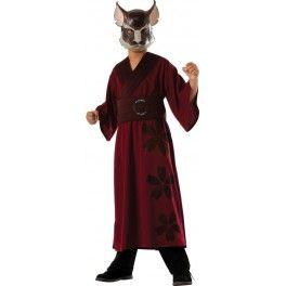 Disfraz de Maestro Splinter Tortugas Ninja para niño