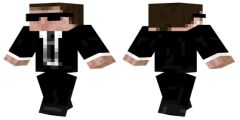 Agent Smith Matrix Minecraft Skin Download http://www.minecraftskindownload.com/agent-smith-matrix