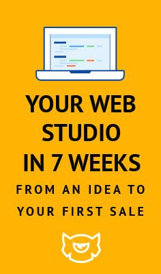 Free courses on How to create your own web design studio in 7 weeks - http://marathon61.templatemonster.com/