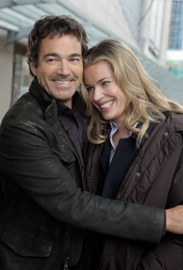 King and Maxwell - good new show on TNT... Rebecca Romijn and Jon Tenney