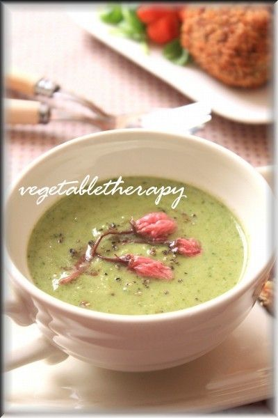 食べるスープ♪飲む野菜♪ブロッコリーと新玉ねぎのポタージュ by つ ...