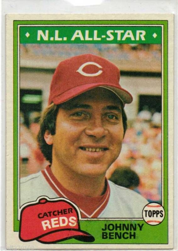 Was Johnny Bench Gay Part - 40: Hot Frame, Johnny Bench.