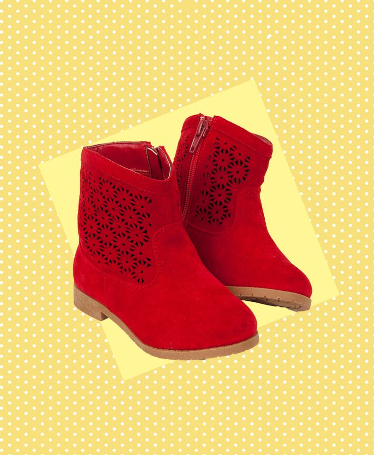 Pumpkin Patch Girls Cutout Ankle Boot - available in sizes 1, 2 and 6-13 http://www.pumpkinpatchkids.com