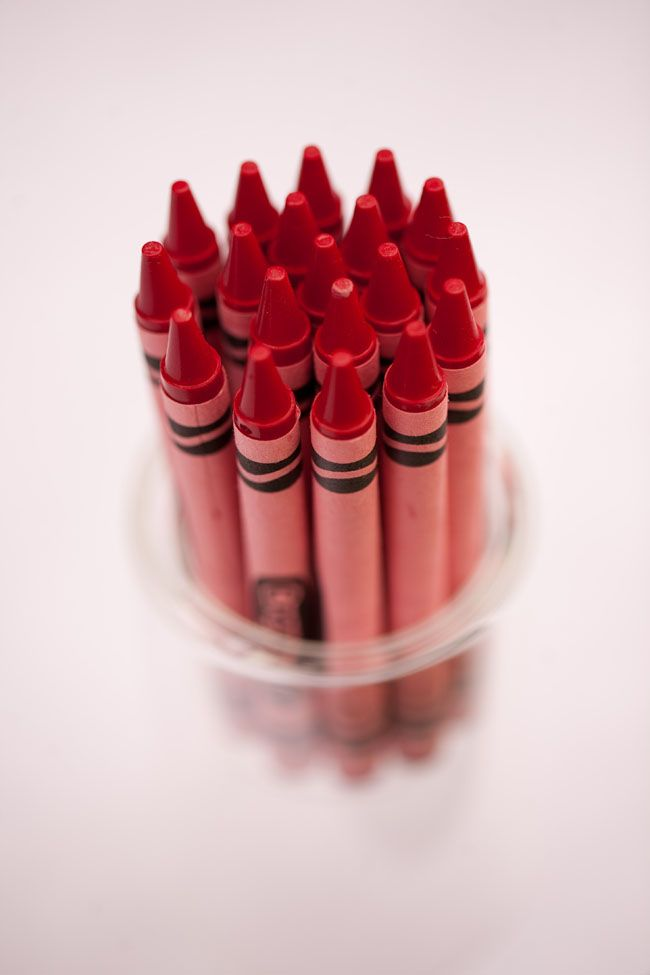 Color Rojo - Red!!! crayons