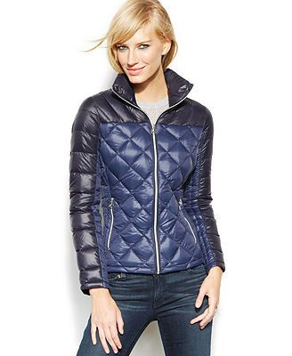 MICHAEL Michael Kors Packable Quilted Down Puffer Coat