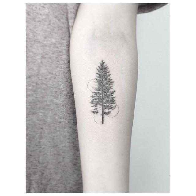 nature = geometry  ************************************ #design #tattoo #black…