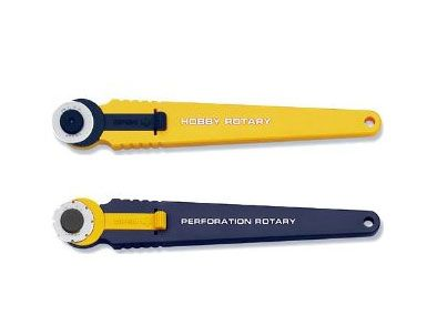 Olfa Cutter : #172B & #173B Rotary Cutter / 1pc Cutter Diameter 18mm. #173B is perforated ticket cutter type. #id12696