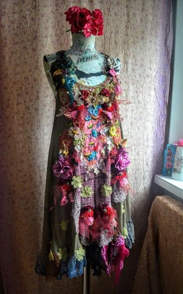 Other – Bohemian dress boho dress tattered dress  – a unique product by IrinaBohemianDance on DaWanda