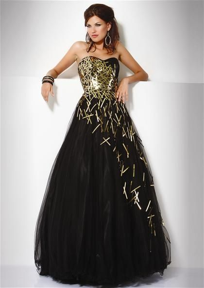 Black And Gold Wedding Dresses at Exclusive Wedding Decoration and ...