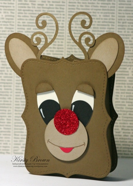 Rudolph designed by Kirsty Brown