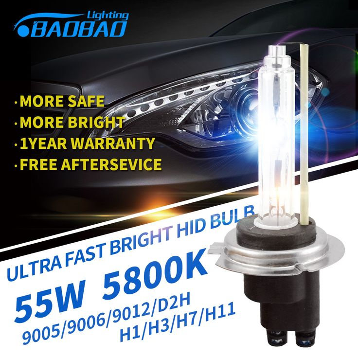 2pcs Top Quality,Ultra Fast Bright 55W 5800k 5200Lm Car HID Bulb car styling HID xenon headlight Bulb H1 H3 H7 H11 9005 9006 D2H //Price: $13.99 & FREE Worldwide Shipping //     #accessories
