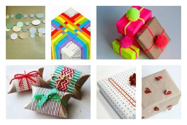 Een berg aan foto's en inspiratie, inclusief tutorials voor inpaktips geschikt voor de december feestmaand.