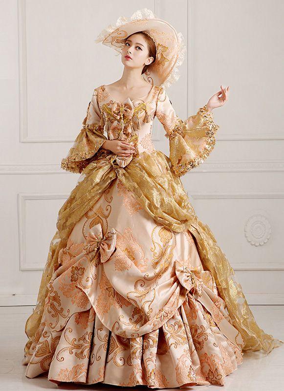 92 besten Marie Antoinette Dresses Bilder auf Pinterest | Medieval ...