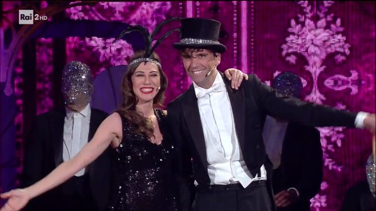 Mika and Virginia Raffaele performing 'Money' from Cabaret, on her show June 7th 2017