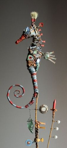 hippocampe, assemblage, gérard collas Plus