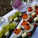 Lockwoods on Location cheese and desert platters