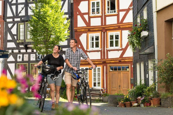 Fahrradtour durch den Westerwald in Hessen, Deutschland. #HessenTourismus #ExpeditionHessen #VisitHessen