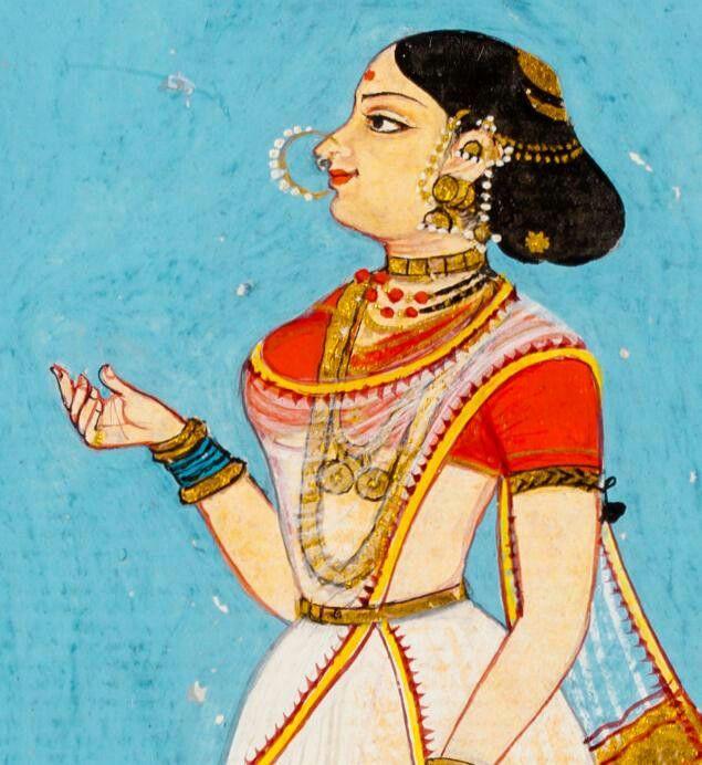 Danseuse, Thanjaver. 1800's