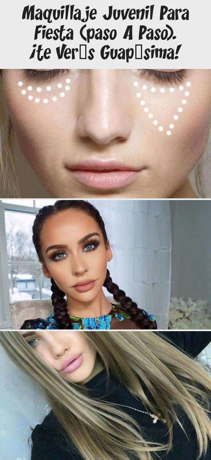 Maquillaje Juvenil Para Fiesta (paso A Paso). ¡te Verás
