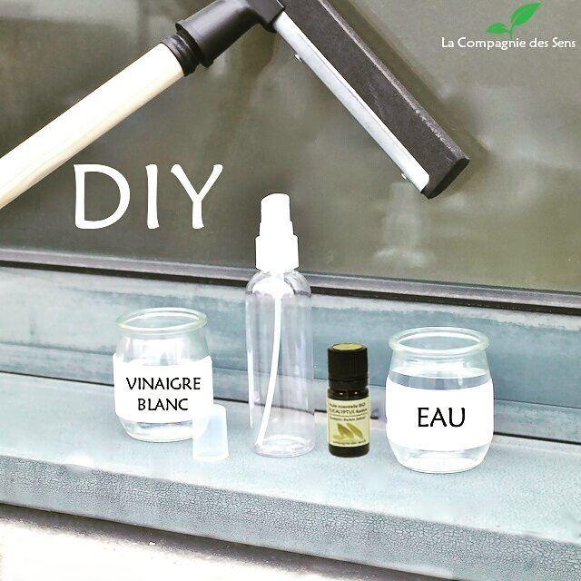 Fabriquez votre produit naturel pour nettoyer les vitres !