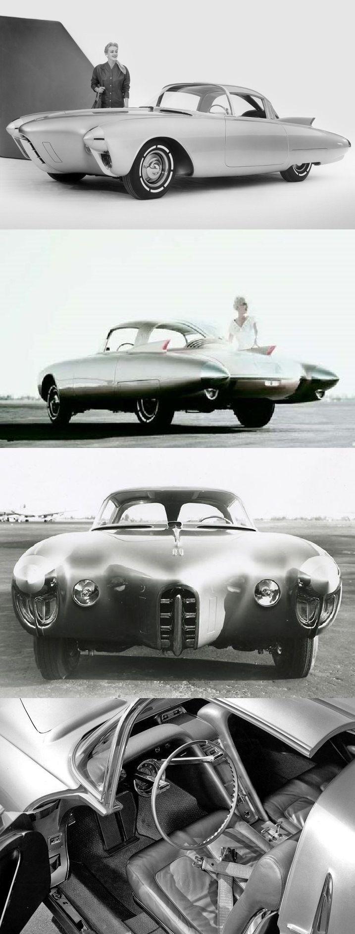 Oldsmobile Golden Rocket concept car by Harley Earl, 1956