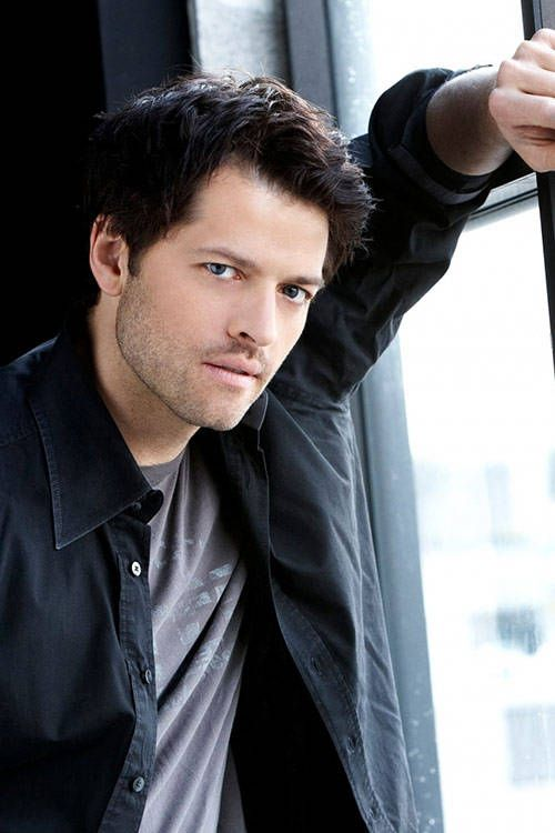 Misha Collins. Plays my favorite character in Supernatural (Castiel) and he's a wonderful and hilarious person :D Not to mention...hot