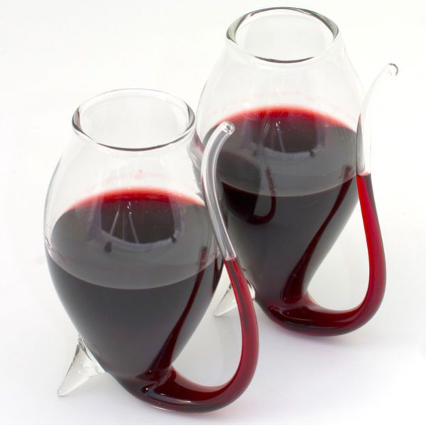 Port Sipper Glasses (2 Pack) omg I don't drink wine but these are cool for the ppl who do