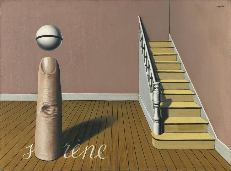 René Magritte - La Lecture Défendue, 1936
