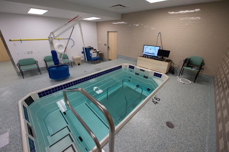 Penn Medicine University City Therapy services are complemented by a range of Penn Medicine services including joint, shoulder and rheumatology specialists; orthopedic trauma, hand and spine physicians; neurology services, family medicine, on-site imaging and more. The site features a new therapeutic pool for aquatic therapy as a complement to existing therapy service.