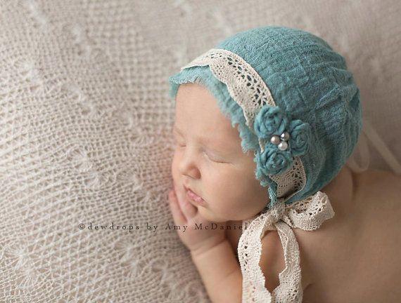 Helen newborn bonnet newborn photo prop newborn bonnet vintage lace bonnet vintage