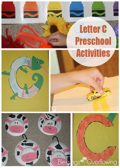 If you are looking for letter C crafts to do with your preschooler, this post is full of great ideas.