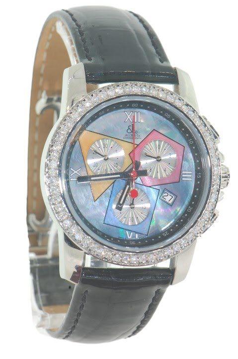 loucri jewelers mens jacob co watch world is yours diamond loucri jewelers mens jacob co jc mother of pearl diamond watch lcmjcb08
