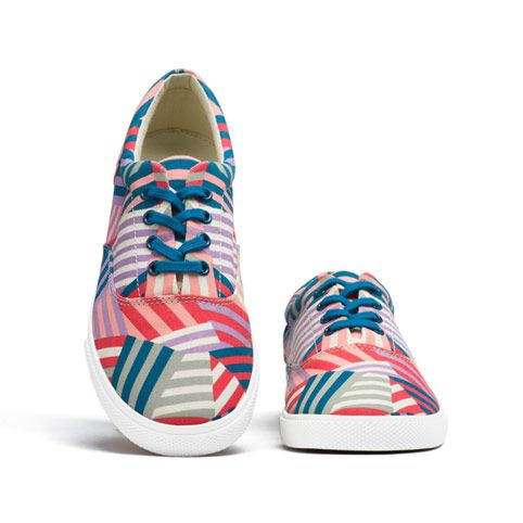 Bucketfeet Patchwork Womens Shoe