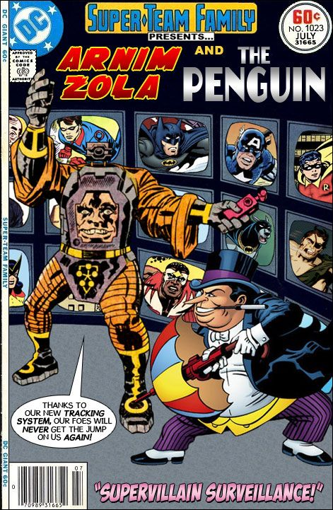 Super-Team Family: The Lost Issues!: Arnim Zola and The Penguin