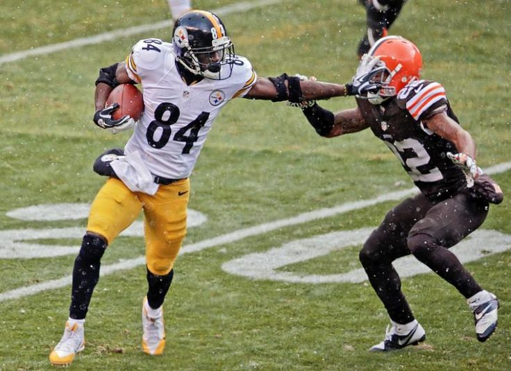 Pittsburgh Steelers wide receiver Antonio Brown