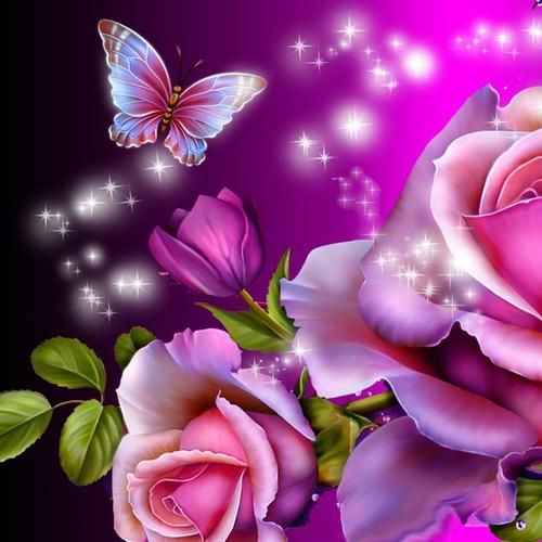 3d Love Live Wallpaper For Pc : Butterfly magic 3D live wallpaper for Android. Butterfly magic 3D ... flowers and butterflies ...