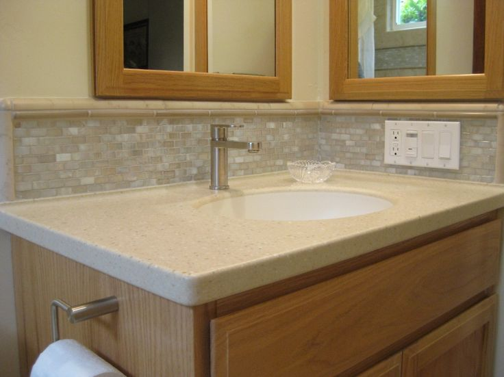 22 best Bathroom Backsplash Ideas images on Pinterest | Bathroom ...