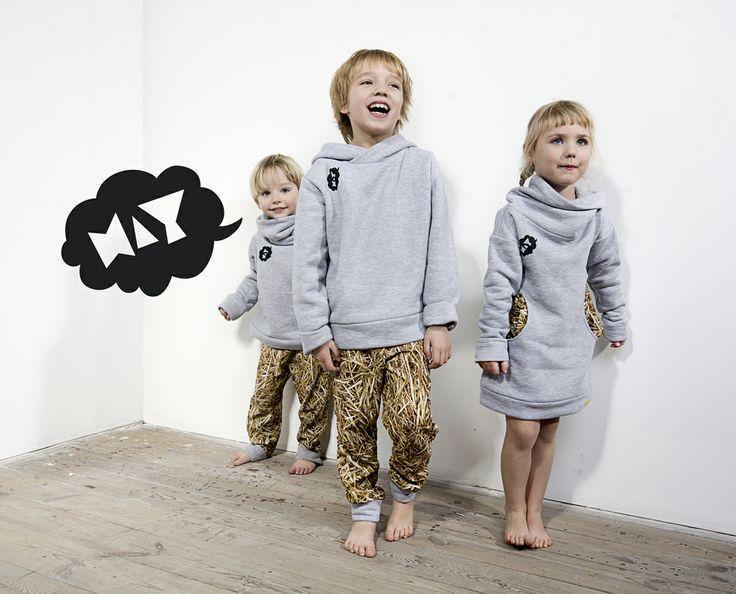 HAY fashion for kids by Dizeno Creative / photo: Piotr Miazga Photography / model: Mieszko & Antek & Tosia / www.hayka.eu
