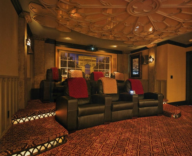 245 Best Home Theater Room Images On Pinterest