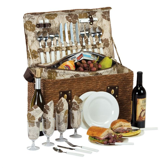 Ideas For A Picnic Basket Gift : Picnic basket idea for auction products i love
