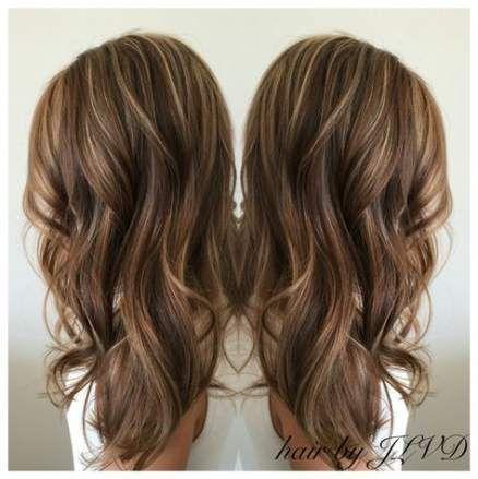 67 Trendy Haarfarbe Ideen für Brünette Low Lights Caramel Curls