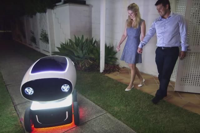 Robots Could Soon Be Delivering Domino's Pizza In Australia